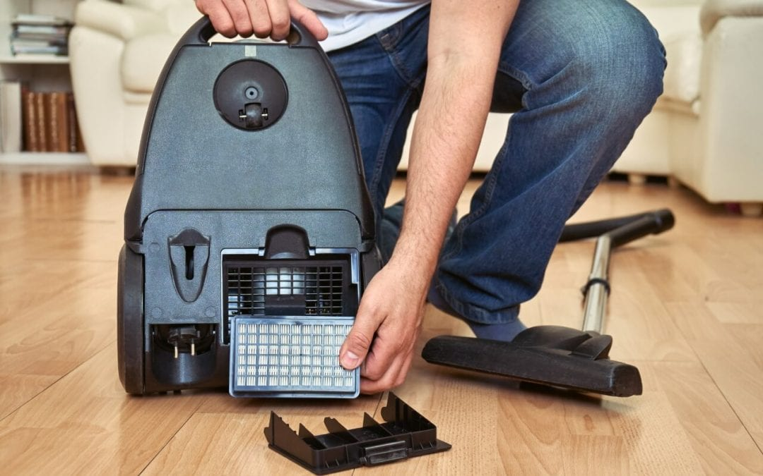 improve indoor air quality by using a HEPA machine when you vacuum